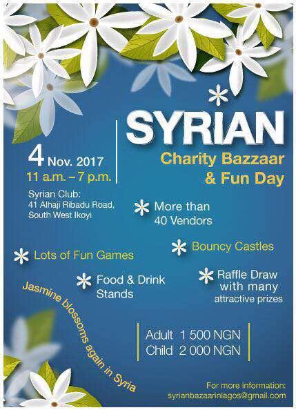 Syrian Charity Bazaar 2017