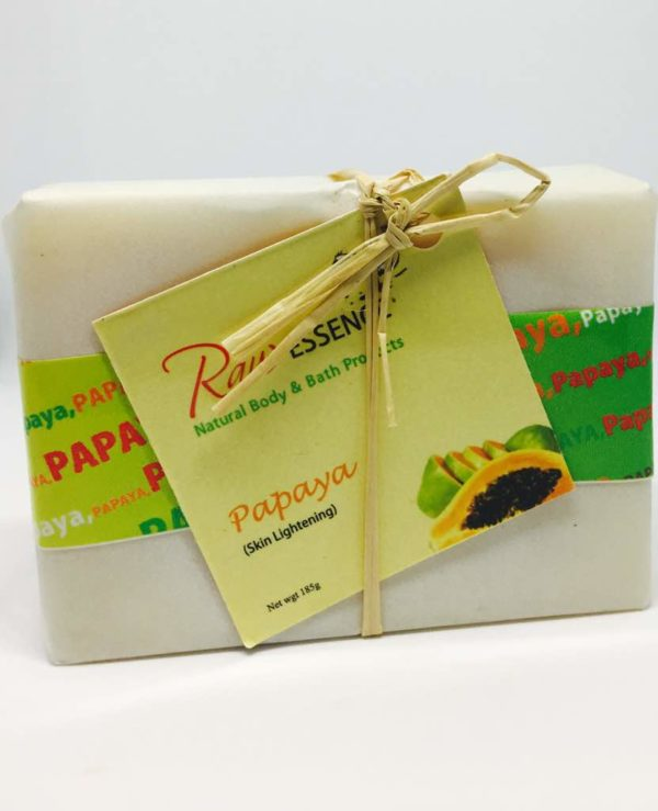 Raw Essence Papaya Soap