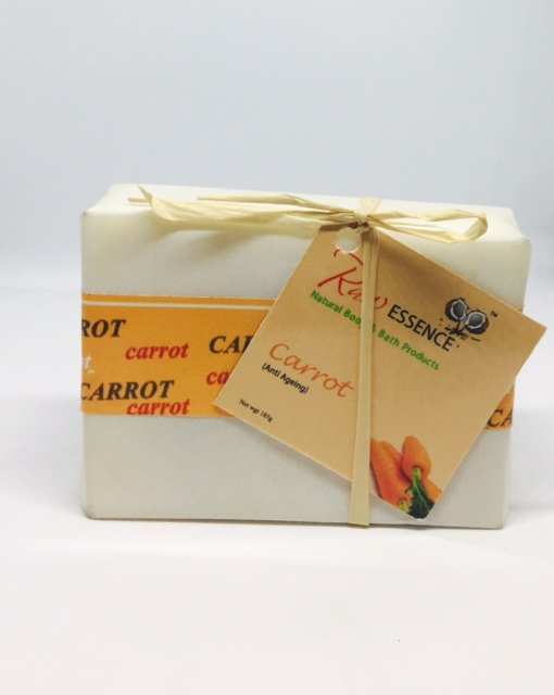 Raw Essence Carrot Soap