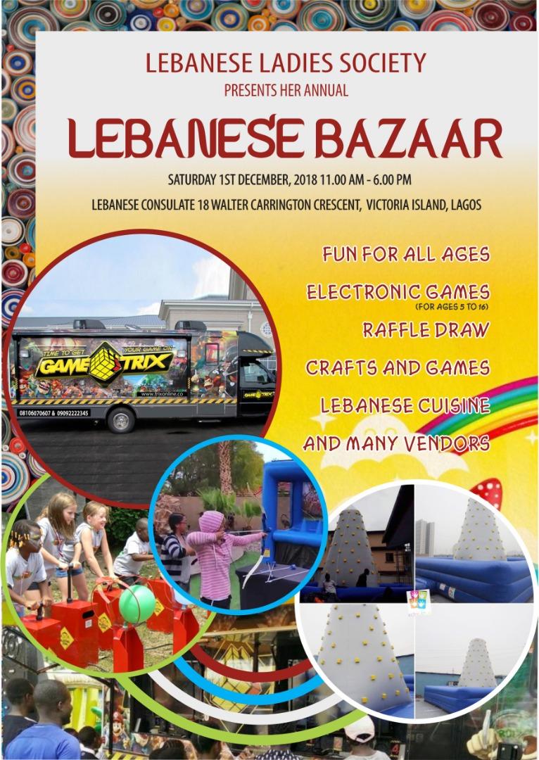Raw Essence at the Lebanese Bazaar 2018