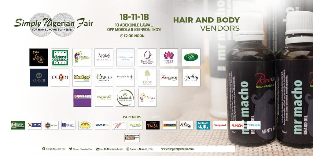 Raw Essence at Simply Nigerian Fair 2018
