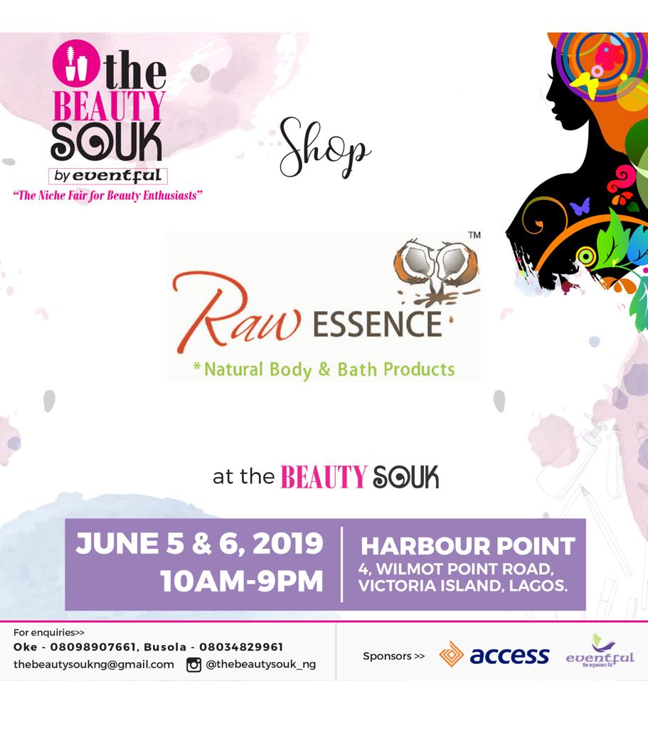 Raw Essence at Beauty SOUK 2019