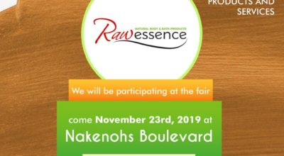 Raw Essence at Eko Wellness Fair