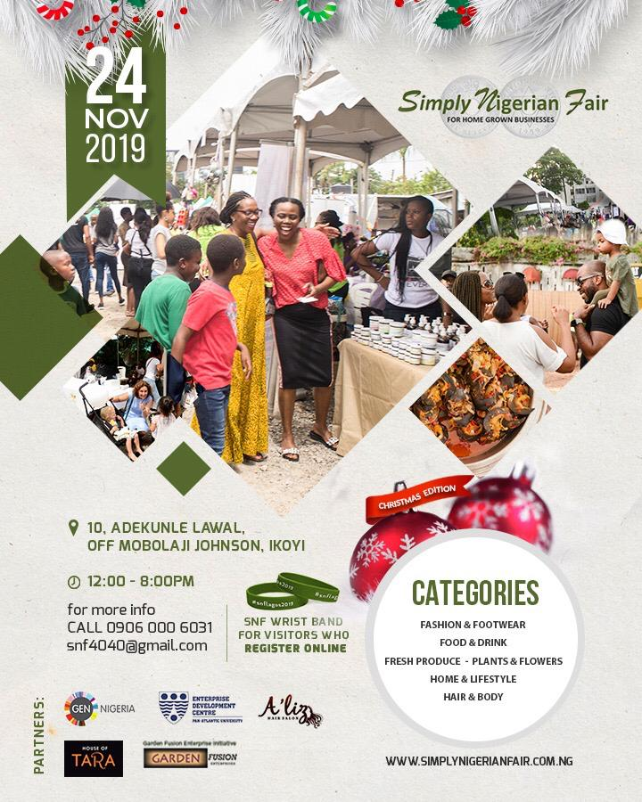 Raw Essence at Simply Nigerian Fair